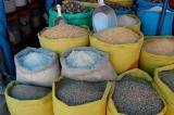 Grains at Peruvian Market
