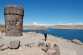 Sillustani Overlooking Lake Umayo