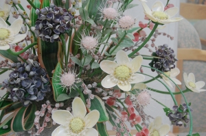 Bouquet Made with Shells