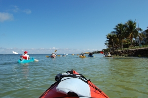 Kayaking the East End of Sanibel