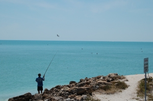 Perhaps you want to enjoy the sun and the sea while fishing.