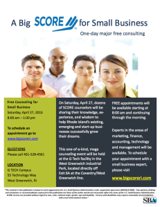 Established and Start-Up Small Businesses are Invited