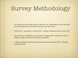 SURVEY METHODOLOGY  (Click to Enlarge)